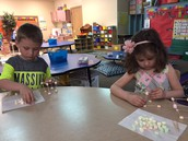 Building 3D shapes with marshmellows