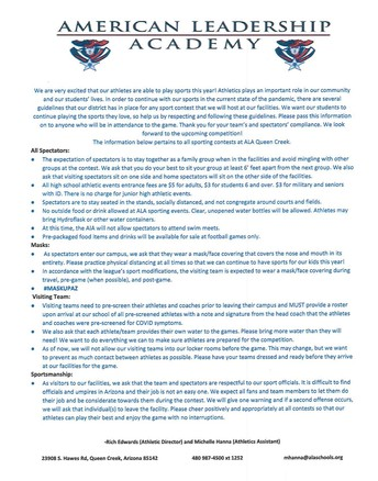 FAN POLICY FOR AWAY GAMES THIS WEEK