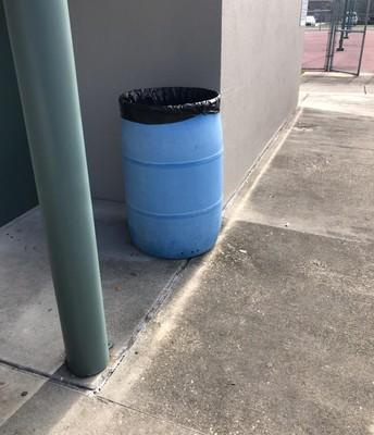 Bye Bye Blue Barrels.....