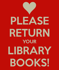 Please return your Library Books!