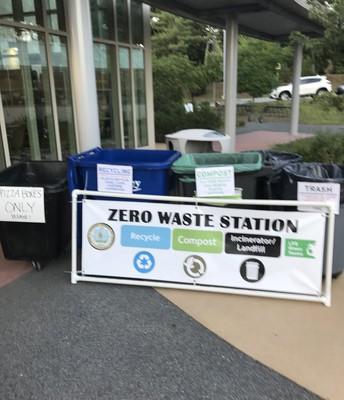 "Zero Waste - Estabrook ""Bee""  Green"
