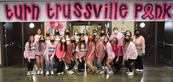 group picture of turn Trussville pink