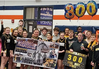 Coach Hatch's Milestone: 300 DUAL WINS