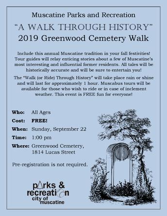 2019 Greenwood Cemetery Walk