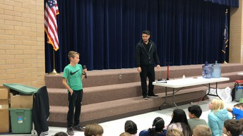 Student Council Conducts Assembly