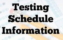 End of Grade Testing Schedule