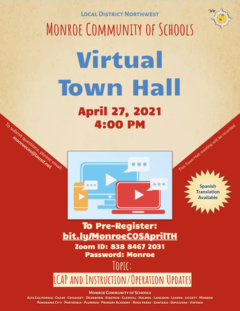 Join Our Virtual Town Hall
