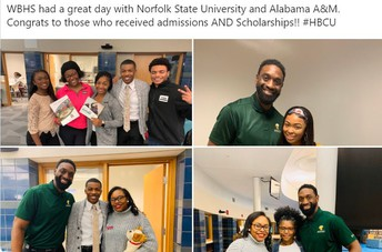 Norfolk State and Alabama A&M