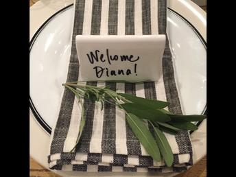 A fresh sage welcome!