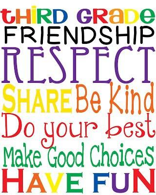 A Message from Your 3rd Grade Teachers!