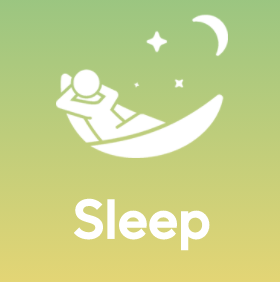 Listen while taking a nap or sleeping