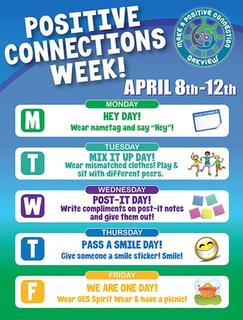 Positive Connections Week is April 8-12!