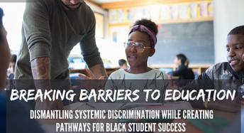 2021 National Black Canadians Summit Series  - Breaking Barriers in Education