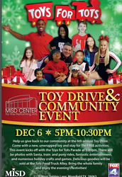 Toys for Tots Community Event Wednesday