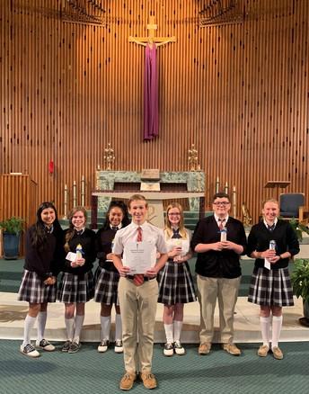 National Junior Honor Society Induction - Ryan Boyea