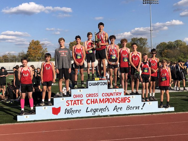 Congratulations CMS Boys XC on taking 2ND Place!