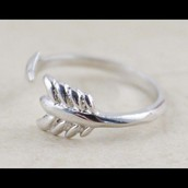 gilded arrow ring size sm/md