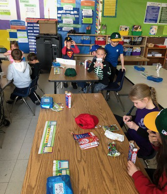 MLB Celebration - must include Cracker Jacks!  Thanks Mr. Beilby!