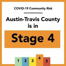 Austin-Travis County moves back to Stage 4 of Risk-Based Guidelines