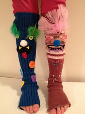 "Wednesday, March 8th ""WACKY SOCK DAY"""