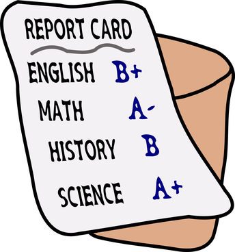 Report Cards are Coming Home!