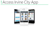 Access Irvine App for Mobile Devices