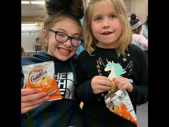 Kindergarten & 6th Grade Buddies