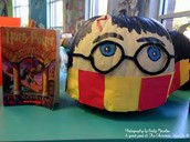 Decorate a pumpkin as your favorite storybook character!