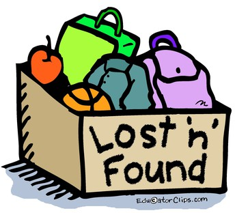 LOST AND FOUND TABLE
