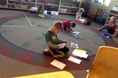 Mrs. Nix's voice overs during writers workshop