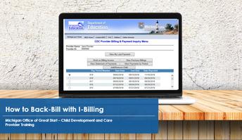 Billing screen in I-Billing