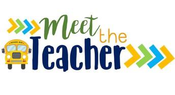 Meet the Teacher this Wednesday September 12th @ 6 pm