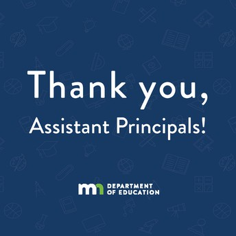 Thank You, Duluth Assistant Principals