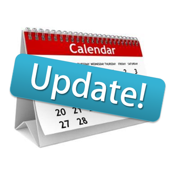 Calendar Updates for December and January