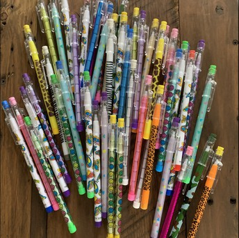 Patterned Stacking Pencil
