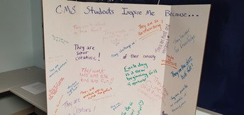 Cohasset Middle School Students Inspire Us...