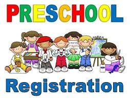 Preschool Registration Updates!