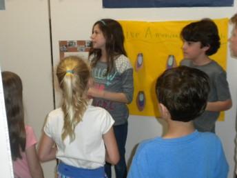 Children listening to their experts
