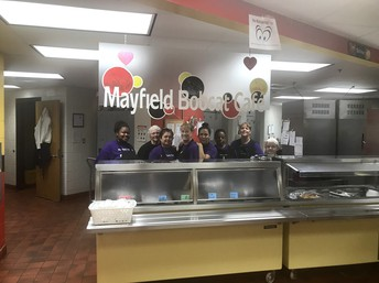 Mayfield Cafeteria Staff