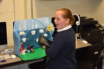 5th Grade Did an Impressive Job Creating Their Scenes for Stop Motion Videos!