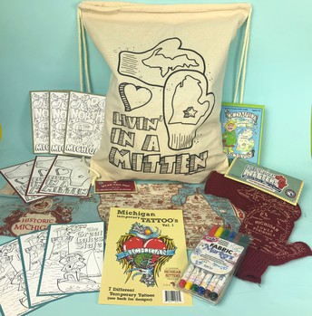 "NEW ""Livin' In A Mitten"" Kid's Fun Pack"