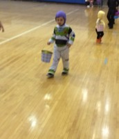 Buzz Lightyear to the party.