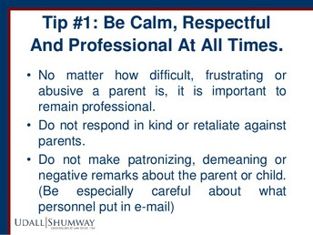 10 Strategies for Dealing with Difficult Parents