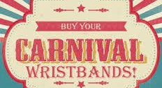 Carnival Wristbands on Sale