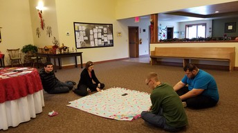 Making Blankets for Making Kids Count