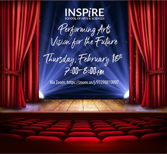 The Inspire Performing Arts Vision for the Future