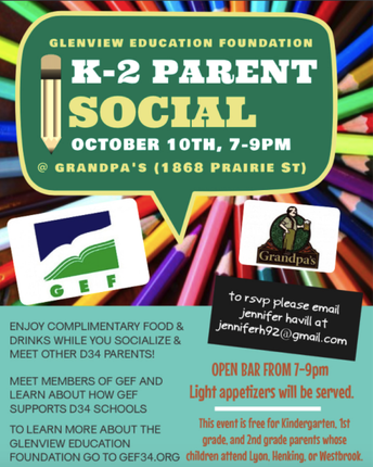 GEF K-2 Parent Social