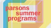 Parsons School of Design Summer Programs