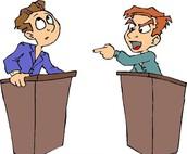 Debatteren kun je leren!