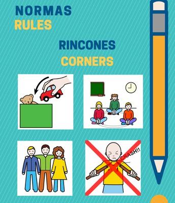 Normas de clase para 3 años (rincones)